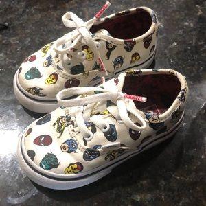 Marvel Vans Toddler Shoes
